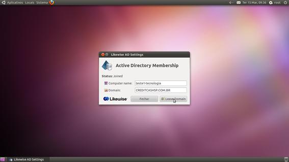 Linux como adicionar maquinas linux ao dom nio microsoft for Domon domain