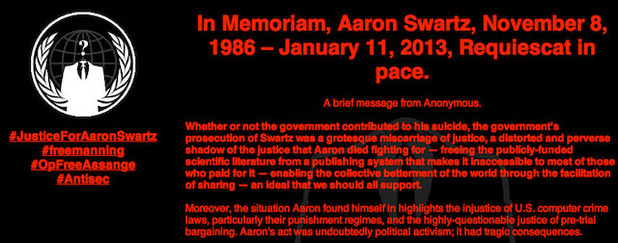 tech-aaron-swartz-anonymous-mit-website-hack-message